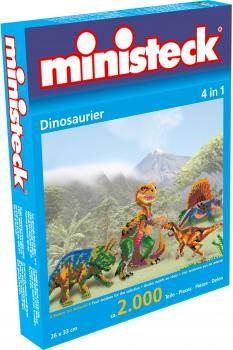 ministeck Dinosaurier, 4in1