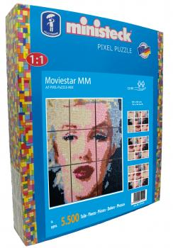 ministeck ART - PiXEL-MiX-PuZZLE - Filmstar MM