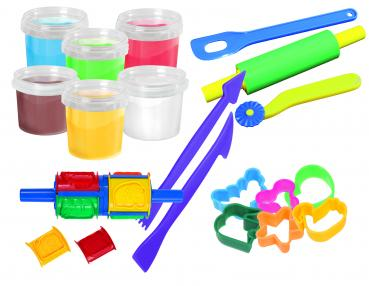 Kinder Soft Knete All in a Bucket - Rollerset