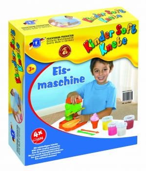Kinder Soft Knete Ice-Machine