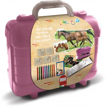 "Multiprint Travel Set ""Mein Pferd"""