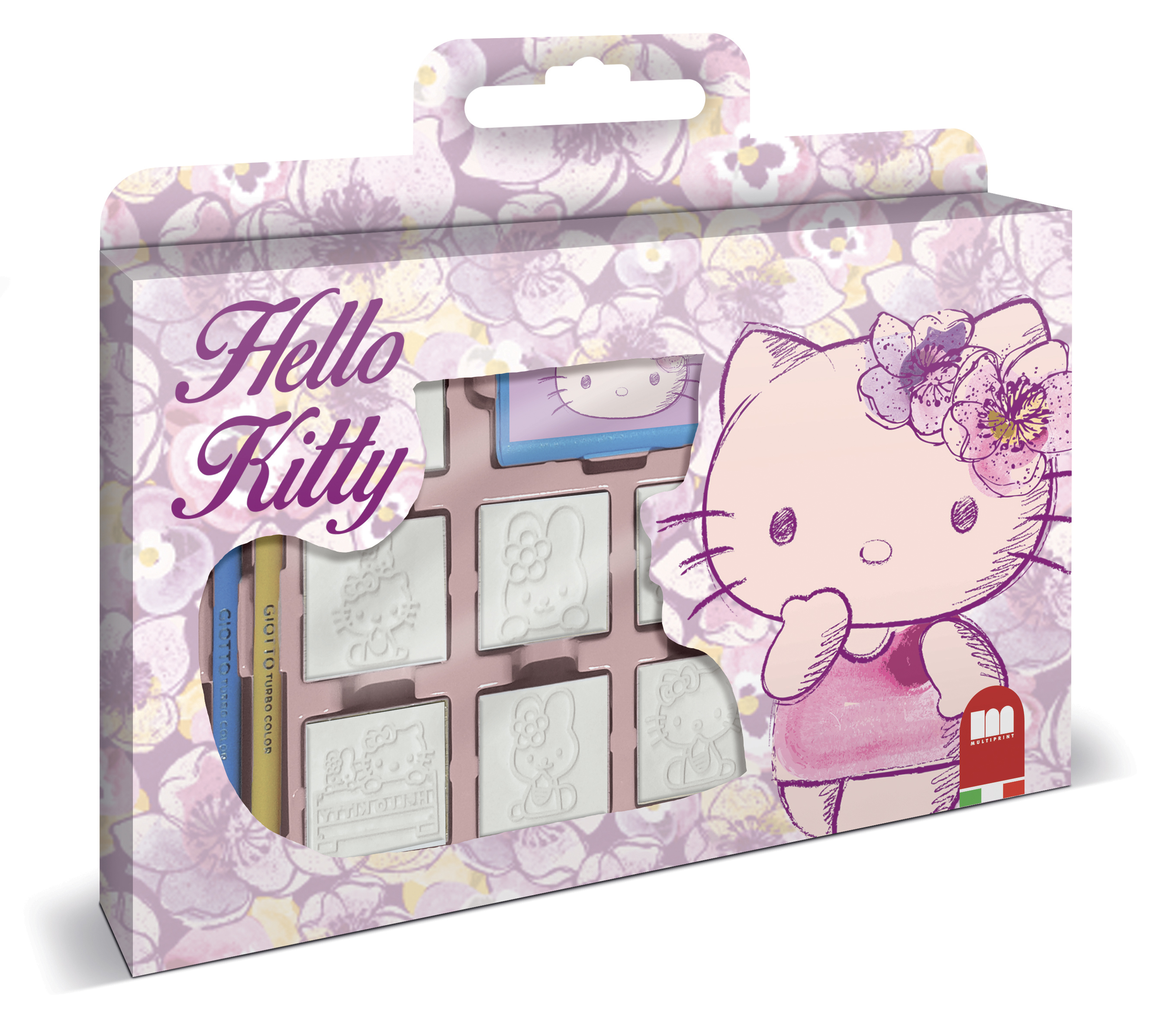 ministeck shop multiprint stempel set hello kitty. Black Bedroom Furniture Sets. Home Design Ideas