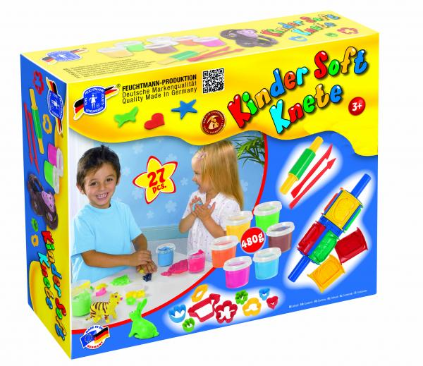Kinder Soft Knete Creative Box
