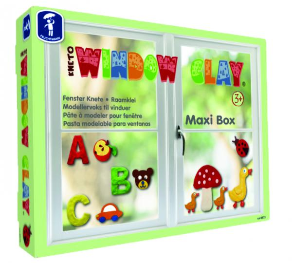 KNETO Window Clay Maxi Box