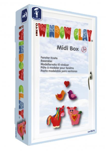 KNETO Window Clay Midi Box