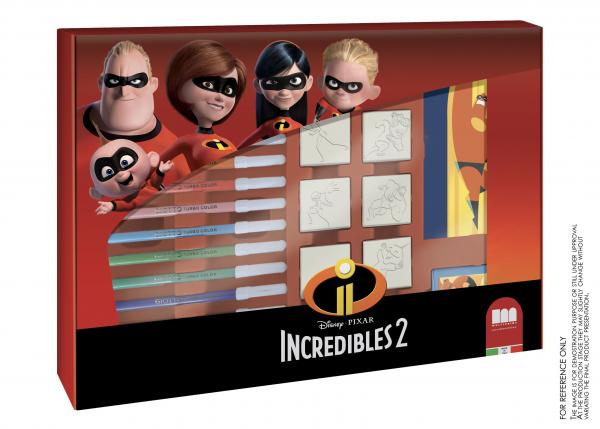 "Multiprint Sticker-Maschine ""Incredibles 2"""