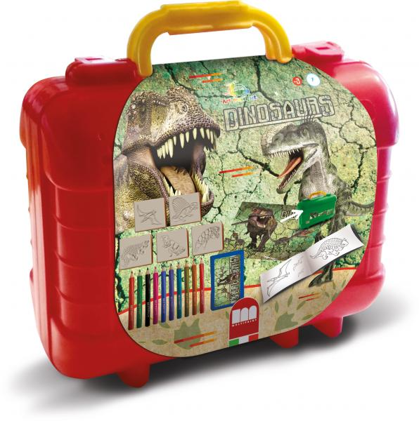 "Multiprint Travel Set ""Dinosaurier"""
